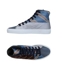 Springa Brown High-tops & Sneakers for men