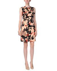 N°21 - Orange Short Dresses - Lyst