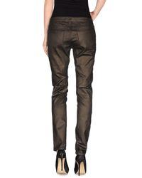 Superfine - Metallic Denim Trousers - Lyst