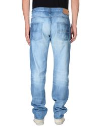 Care Label - Blue Denim Pants for Men - Lyst