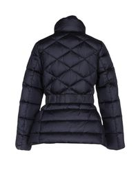 313 Tre Uno Tre - Blue Down Jacket - Lyst
