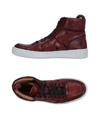 John Varvatos | Red High-tops & Sneakers for Men | Lyst