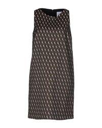 Si-jay - Black Short Dress - Lyst