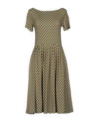 Siyu Black Knee-length Dress