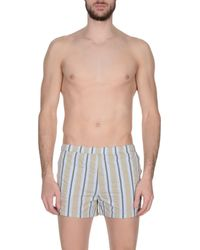 La Perla - Natural Swim Trunks for Men - Lyst