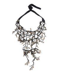 NIGHTMARKET.IT | Black Necklace | Lyst