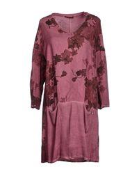 GAUDI | Purple Short Dress | Lyst