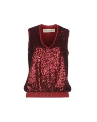 Shirtaporter - Red Top - Lyst