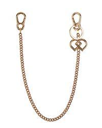 DSquared² - Metallic Key Ring for Men - Lyst