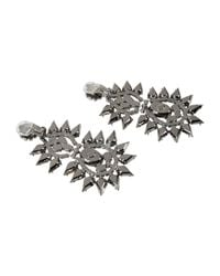 Kenneth Jay Lane - White Earrings - Lyst