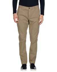 Fred Mello - Natural Casual Trouser for Men - Lyst