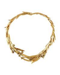 Aurelie Bidermann - Metallic Necklace - Lyst