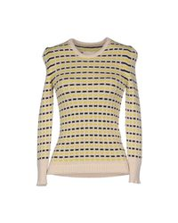 Maison Margiela - Natural Sweater - Lyst