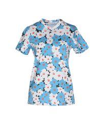 Au Jour Le Jour - Blue T-shirts - Lyst