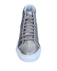 Vans - Metallic High-tops & Sneakers - Lyst