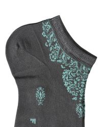 Falke - White Short Socks - Lyst