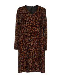 Caractere - Black Short Dress - Lyst