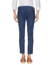 Michael Coal - Blue Casual Pants for Men - Lyst