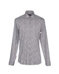 Patrizia Pepe - Gray Shirt for Men - Lyst