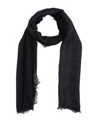Dondup - Gray Oblong Scarf for Men - Lyst
