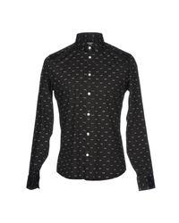 KENZO - Black Shirts for Men - Lyst