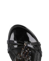 Roberto Botella - Black Sandals - Lyst