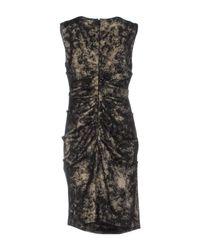 Nicole Miller Artelier | Black Knee-length Dress | Lyst