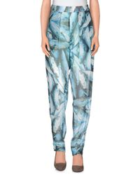 5preview - Blue Casual Trouser - Lyst