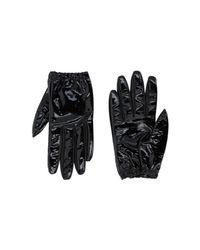 Jil Sander Navy - Black Gloves - Lyst