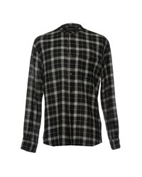 French Connection - Black Shirts for Men - Lyst