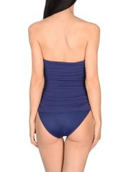 Norma Kamali - Blue One-piece Swimsuits - Lyst