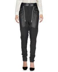 NU Denmark Black Casual Trouser