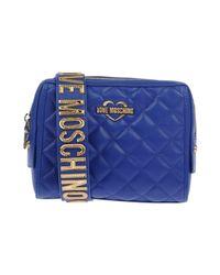 Love Moschino - Blue Cross-body Bag - Lyst
