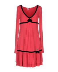 Scee By Twin-set - Red Short Dress - Lyst