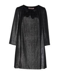 Frankie Morello - Gray Short Dress - Lyst