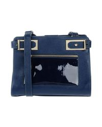 Pinko - Blue Cross-body Bag - Lyst