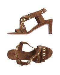L'Autre Chose - Brown Sandals - Lyst