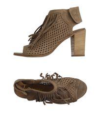 Lemarè - Natural Sandals - Lyst
