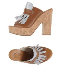 Scoop - Brown Mules - Lyst