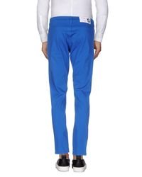 Department 5 - Blue Casual Trouser for Men - Lyst