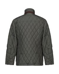 Henry Cotton's Green Down Jacket for men