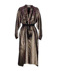 Maison Rabih Kayrouz - Black 3/4 Length Dress - Lyst