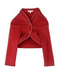 Paule Ka - Red Wrap Cardigans - Lyst
