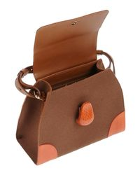 Alberta Ferretti - Brown Cross-body Bag - Lyst