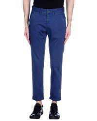 Jeckerson - Blue Casual Trouser for Men - Lyst
