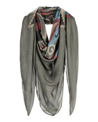 Mauro Grifoni - Green Square Scarf - Lyst