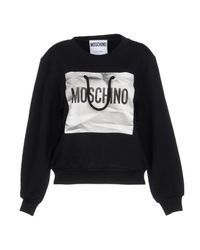 Moschino - Black Sweatshirts - Lyst