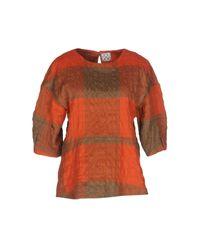 Chalayan - Orange Blouse - Lyst