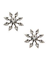 DANNIJO - Metallic Earrings - Lyst
