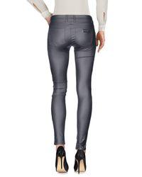 Met - Gray Casual Trouser - Lyst